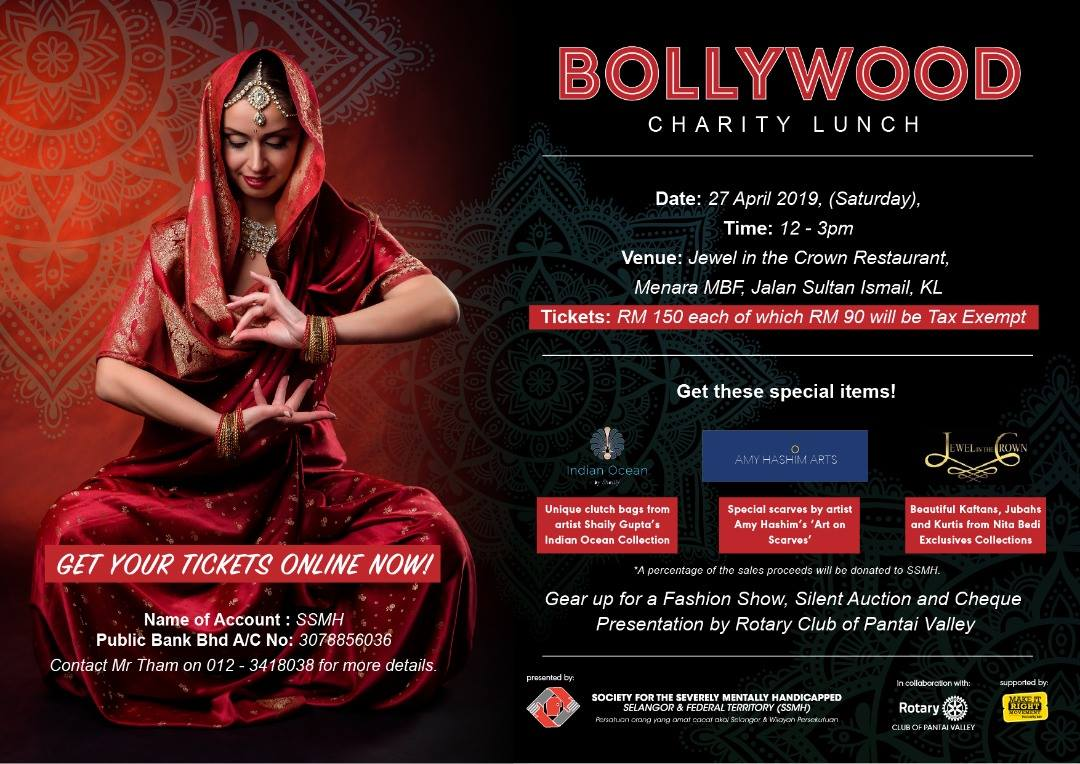 Bollywood Charity Lunch